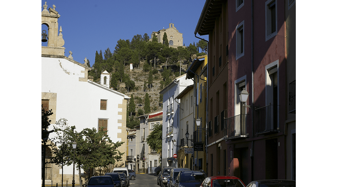 The town of Xàtiva